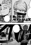 Hawks confronts Best Jeanist
