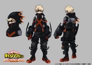 Katsuki Concept Art (World Heroes' Mission)