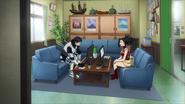 Tenya and Momo at the Class 1-A Hero Office