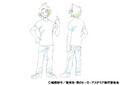 Denki Kaminari Casual Shading TV Animation Design Sheet