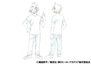 Denki Kaminari Casual Shading TV Animation Design Sheet