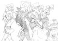Heroes Rising Countdown Sketch