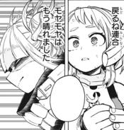 Ochaco wondering why Himiko was crying