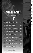 Volume 7 (Vigilantes) Table of Contents