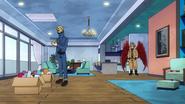 Hawks visits Best Jeanist