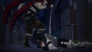 Stain defeats Tenya