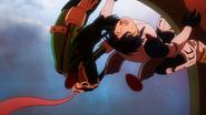 Tsuyu and Tenya are knocked out