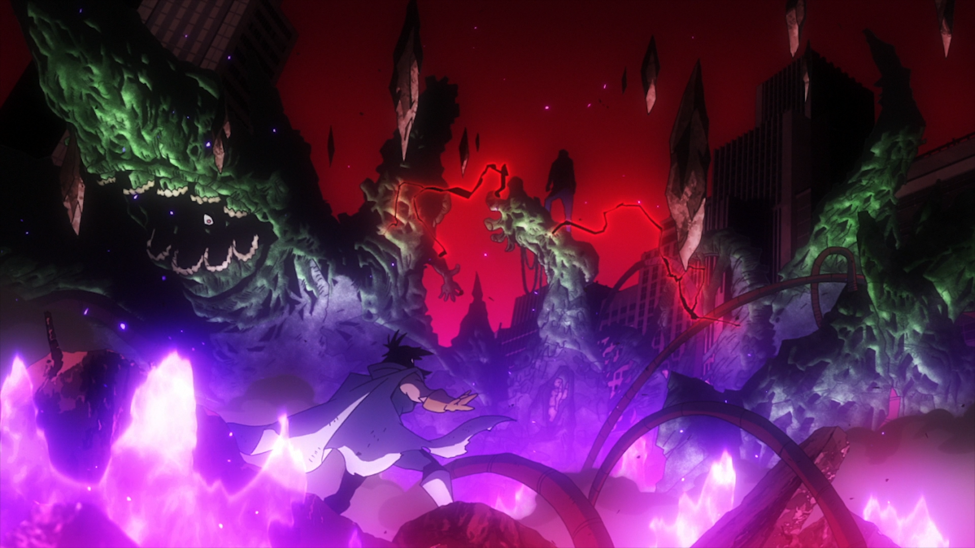 Nana Shimura vs. All For One