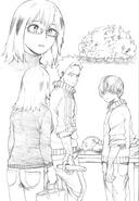Shoto and Natsuo atempting to make soba