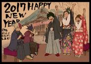 Boceto - Feliz Año nuevo 2017