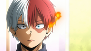 Shoto senses something terrible has happened to his father.