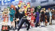 Class 1-B Hero Costumes Anime