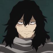 La cicatriz de Shota de su pelea con Nomu