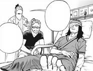 Shota and Hizashi at the hospital
