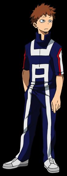 Kosei Tsuburaba PE Uniform.png