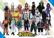 Season 5 Class 1-B Hero Costumes Revealed