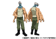 Mezo Shoji Casual TV Animation Design Sheet