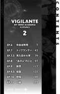 Volume 2 (Vigilantes) Table of Contents