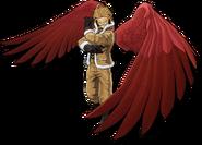 Hawks en My Hero One's Justice 2 Diseño