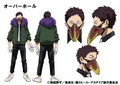 Kai Chisaki TV Animation Design Sheet