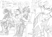World Heroes' Mission 4D Release Sketch