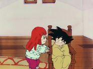 En Goku s'escalfa a casa de la Suno