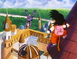 En Goku contra el General Black