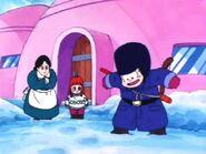 En Goku descobreix la neu