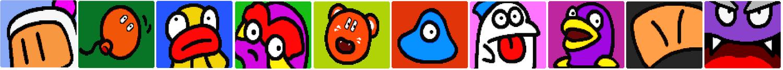 Characters PBA