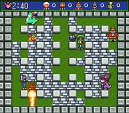 Super Bomberman 5 - Modo Batalla