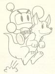 Bomberman and Rooey
