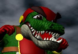BW Lizard Man