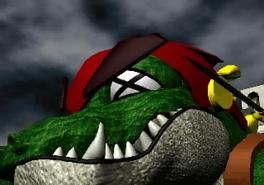 BW Lizard Man 2