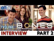 """Bones"" Stars On Season 8 Finale, ""Castle,"" On-Set Battles, Hellmouth, Part 2 - TV Line"