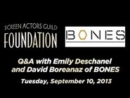 Conversations Emily Deschanel and David Boreanaz of BONES
