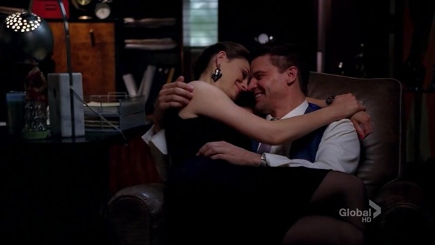What episode do bones and booth sleep together for the first time