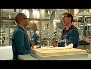 Bones - 7x04 - Hodgins & Clark with the weapons