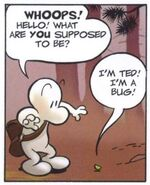 Ted the Bugs First Appearance
