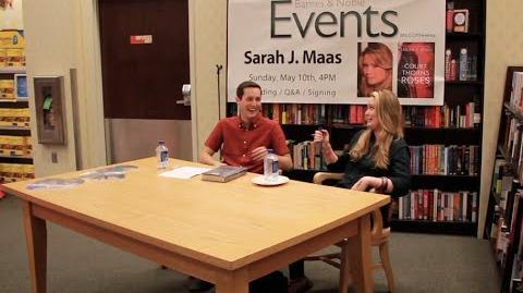 Q&A WITH SARAH J MAAS