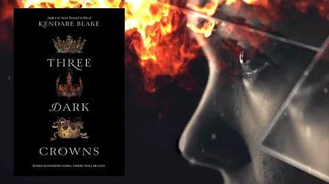THREE DARK CROWNS by Kendare Blake Official Book Trailer
