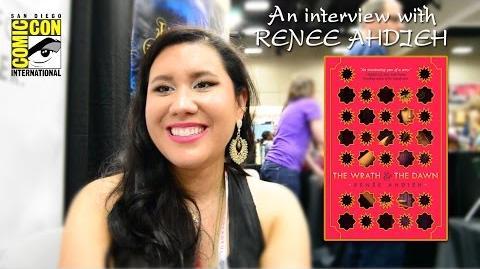 Exclusive SDCC 2015 Interview Renee Ahdieh