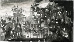 Book of Life Concept Art - Land of the Remembered (6)