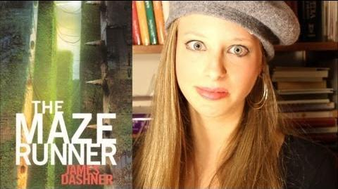 THE MAZE RUNNER BY JAMES DASHNER booktalk with XTINEMAY