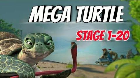 Boom Beach-Mega Turtle Here!-Stage 1-20 GBE Ability