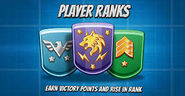 Player ranks