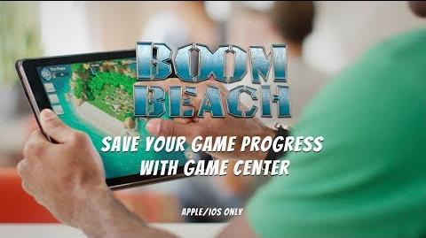 Boom Beach Save your Game Progress with Game Center (iOS)