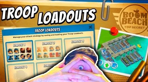 Boom Beach New TROOP LOADOUT Presets! New Update Feature + Gameplay