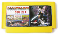 Super Games 500-in-1 Famicom cartridge 2