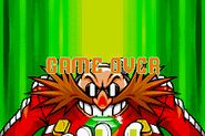 Sonic 3 - Fighter Sonic Game Over