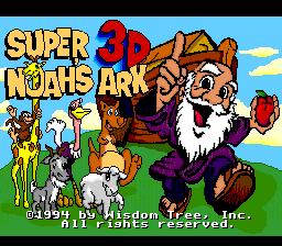 Super 3D Noah's Ark Title screen.png